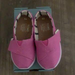 Toms Classic Rose Violet Heritage Canvas Shoes